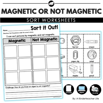 Magnetic and Not Magnetic Sort