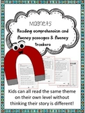 magnets fluency and comprehension leveled passages