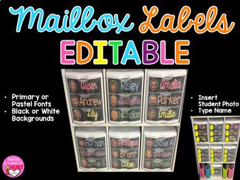 mailbox labels ~ editable
