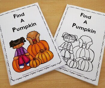 Pumpkin Patch take-home Book