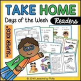 Days of the Week Printable October Book