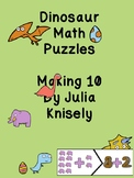 making 10 dinosaur puzzles