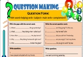 making questions