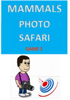 mammals Photo Safari Game 2