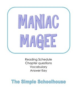 maniac magee chapter questions
