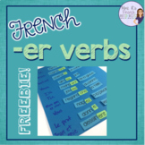 French -er verbs activity / les verbes en -er