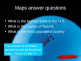 map skills (World of Maps) PowerPoint