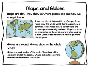 Map Skills - Map and Globe Skills including Prime Meridian