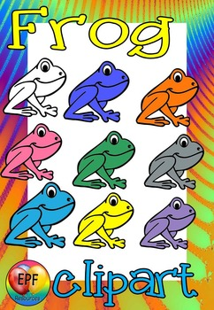 marching frog clip art