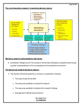 marketing research course