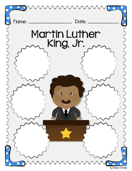 Martin Luther King Jr. - FREE Activity