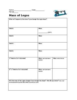mass of Legos