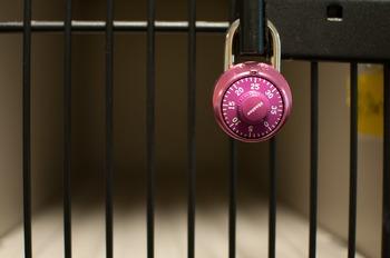 Stock Photo: Masterlock Locker Key-Personal & Commercial Use