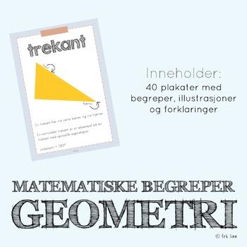 matematikkplakater - geometri