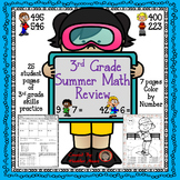 3rd grade math summer review packet