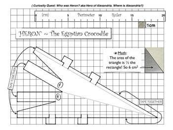 math & Art Activity on Area and Perimeter (Digital & Printable Worksheets)