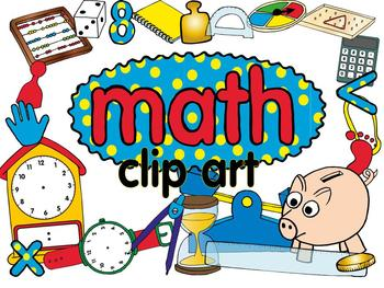 math clip art set by lita lita teachers pay teachers rh teacherspayteachers com Fraction Clip Art for Teachers Geometry Clip Art for Teachers