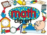 math clip art set