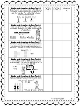math goal folder