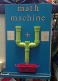 """math machine"" lesson and worksheet"