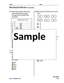 common core math review 3rd grade Sample