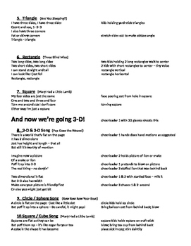 math songs and skit