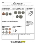 Math Quiz Week 2 - counting a collection of coins