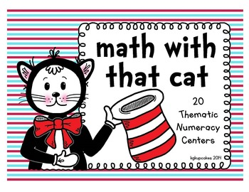 math with that cat: 20 numeracy centers