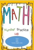 math worksheets prek-k autumn themed
