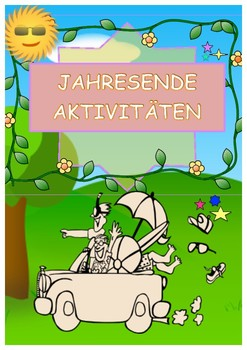 mathactivity in german - Jahresende-Aktivität (Mathe) no prepare!