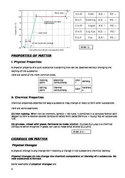 matter and properties