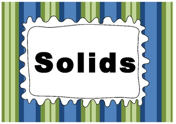 matter , solids and liquids properties charts