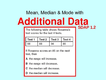 mean, median, mode AND MORE!!!!!!!!!