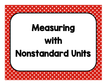 measuring with nonstandard units