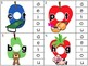 medial vowel clip cards_2 sets_hungry caterpillar theme