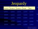 medieval Africa Jeopardy Review
