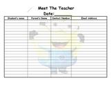 meet the teacher minion