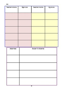 meeting minutes record form