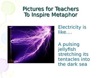 creative writing ideas - metaphor and similes