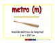 meter/metro meas 2-way blue/rojo