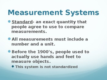 metric measurement powerpoint