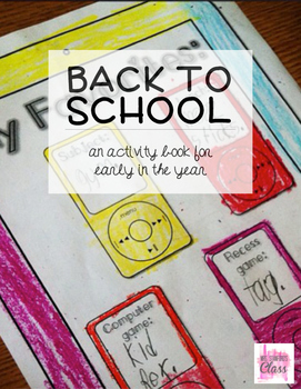 Back to School Activity Book