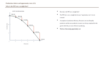 Microeconomics - Production & Opportunity Costs