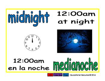 midnight/medianoche meas 1-way blue/verde