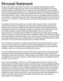 midwifery personal statements