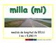 mile/milla meas 2-way blue/verde