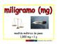 milligram/miligramo meas 2-way blue/rojo