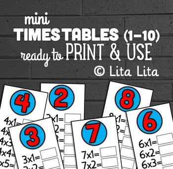 mini Times Tables