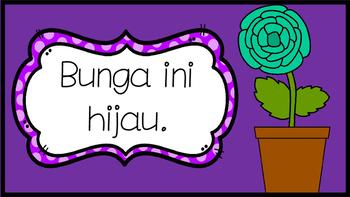 mini WARNA book  in BAHASA INDONESIA indonesian