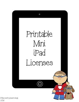 mini iPad Licenses